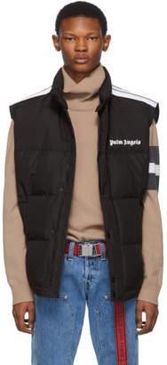 Palm Angels Black Down Track Vest