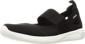 Crocs Women's LiteRide Mary Jane Sneaker | Comfort Slip On Shoes Flat