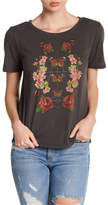 Lucky Brand Washed Floral Tee
