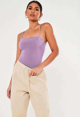 Missguided Seam Free Straight Neck Bodysuit