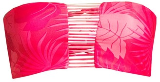 Mikoh Sunset Floral Strappy Bandeau