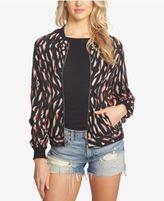 1 STATE 1.STATE Printed Bomber Jacket
