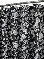 B. Smith Park Park Floral Swirl Fabric Shower Curtain