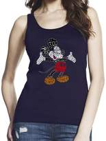 STRICT CODE Inspired by Mickey, Women Black/ 100% Softstyle Cotton Tank Top S-2XL, d1337