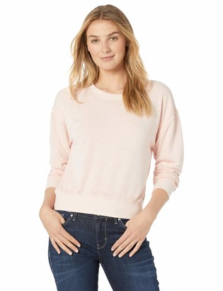 Alternative Women's The deb Burnout French Terry Cropped Pullover