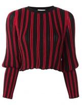 Sonia Rykiel tight longsleeves striped pullover