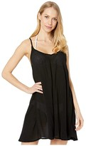 Roxy Be in Love Cover-Up Dress (Anthracite) Women's Swimwear
