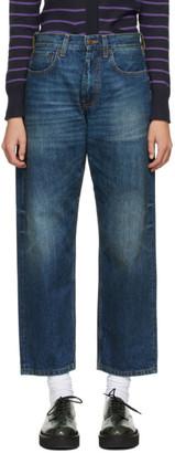 6397 Blue Skater Jeans