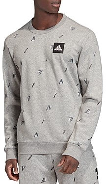 adidas Must Haves Logo Print Sweatshirt