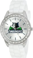 Game Time Women's NBA-FRO-MIN Frost NBA Series Minnesota Timberwolves 3-Hand Analog Watch