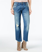 William Rast Best Friend Ripped Paula Wash Boyfriend Jeans
