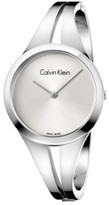 Calvin Klein Addict Lady Polished Stainless Steel Bangle, Silver Dial