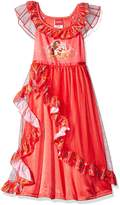 Disney Elena Of Avalor Dress Like a Princess Nightgown for Little Girls
