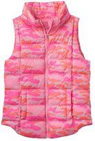 Girls 7-16 SO® Zip-Up Puffer Vest