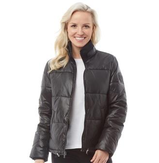 UGG Womens Izzie Puffer Nylon Jacket Black