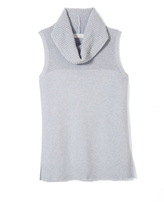 Two By Vince Camuto Cowlneck Sleeveless Sweater