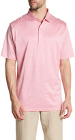 Peter Millar Striped Short Sleeve Polo