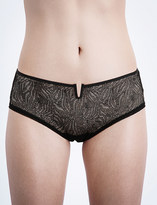 Implicite Pulsion stretch-tulle shorty briefs