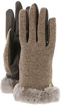 UGG R) Women's Shorty Smart Febric Glove w/Short Pile Trim