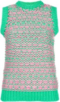Jil Sander Pre Owned knitted vest