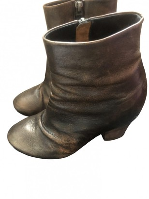 Marsèll Metallic Leather Boots