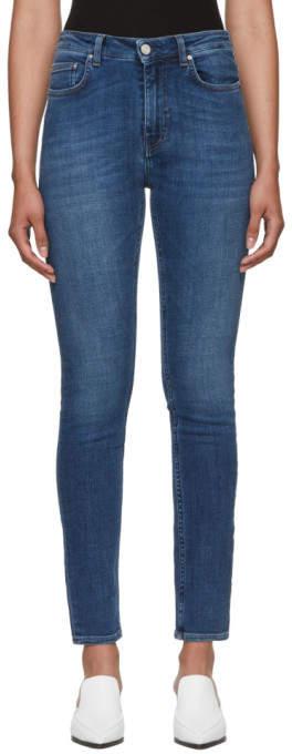 Totême Blue Slim Jeans