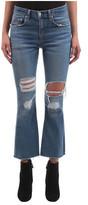 Rag & Bone Women's Crop Flare Jean in Howell Wholes