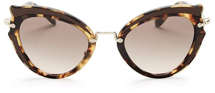 Miu Miu Cat Eye Sunglasses, 42mm