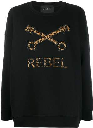 John Richmond logo oversize sweatshirt