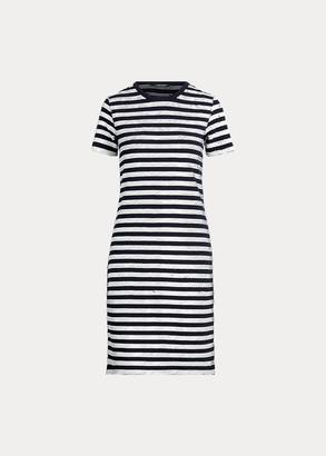 Ralph Lauren Sequined Short-Sleeve Dress