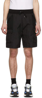 John Elliott Black Tactical Cargo Shorts