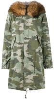 Mr & Mrs Italy - fur-trimmed camouflage parka - women - Cotton - S