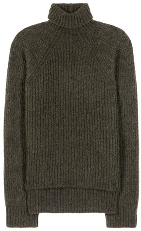 Haider Ackermann Mohair and wool-blend turtleneck sweater