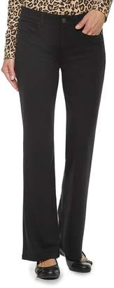 Croft & Barrow Women's Easy Care Bootcut Pants
