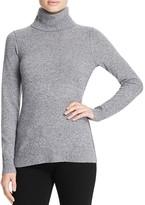 Aqua Cashmere Turtleneck Cashmere Sweater