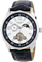 Nemesis Men's L010W Automatic Sun and Moon Display Mechanical Collection Watch