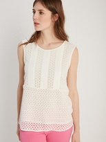 White Stuff Esme cutwork vest