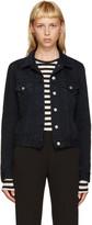 Acne Studios Black Denim Top Over Jacket