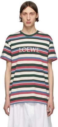 Loewe Multicolor Striped T-Shirt
