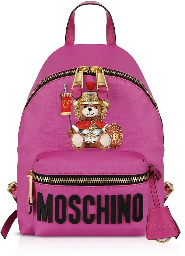 Moschino Teddy Bear Nylon Backpack