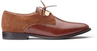 Jonak Divyo Leather Brogues