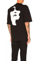 Neil Barrett Ahtletic Long Graphic Tee in Black.