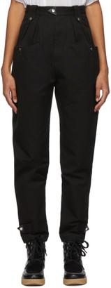 Etoile Isabel Marant Black Pulcie Trousers