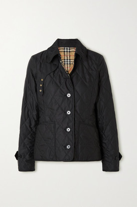 Burberry Quilted Shell Jacket - Black