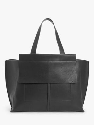 KIN Triple Compartment Tote Bag, Black