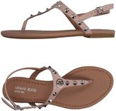 Armani Jeans Toe strap sandals