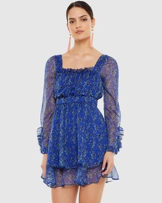 Talulah Morning Light Long Sleeve Mini Dress