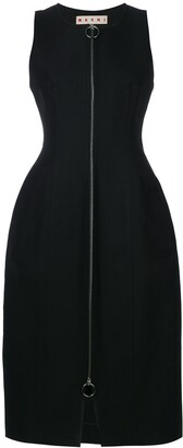 Marni Zip Front Oversized Dress