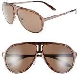 Carrera Men's Eyewear 59Mm Aviator Sunglasses - Brown Havana/ Brown