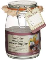 Kitchen Craft Home Made Deluxe Glass Preserving Jar, 1000ml (35oz)